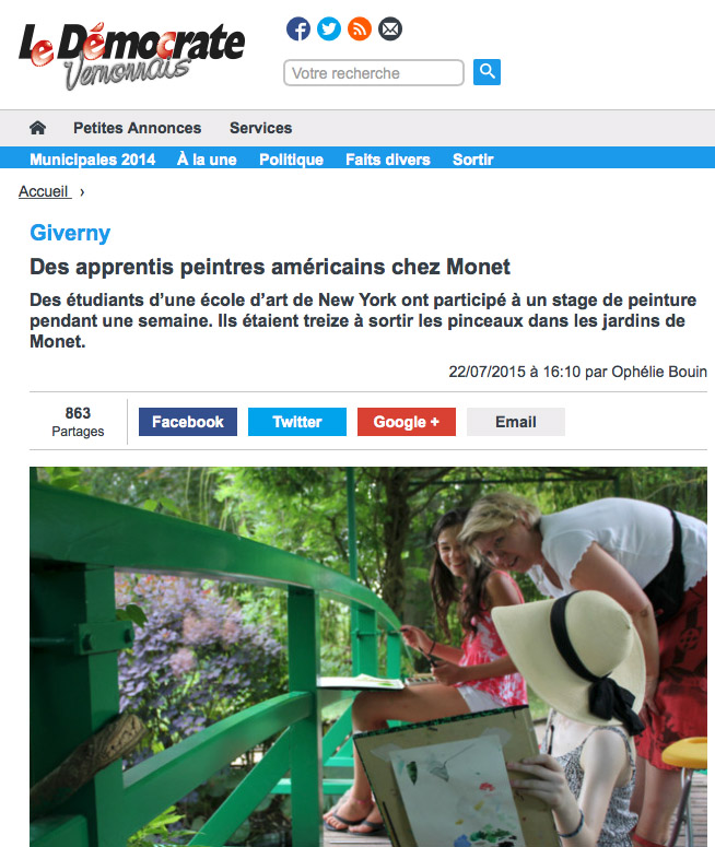 giverny exposition temporaire