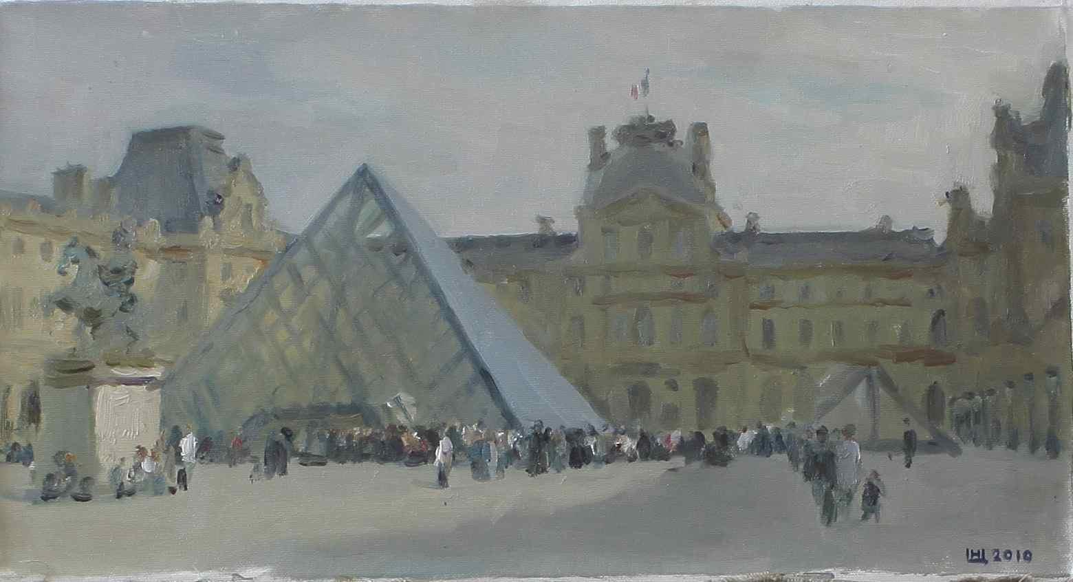 Piramide du Louvre Nikita Tsytsin